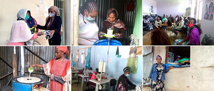 Unterstützung von Unternehmerinnen in Äthiopien
