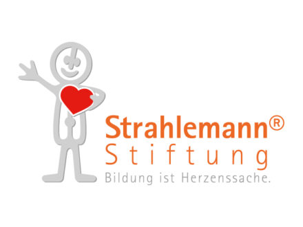 Logo Strahlemann-Stiftung