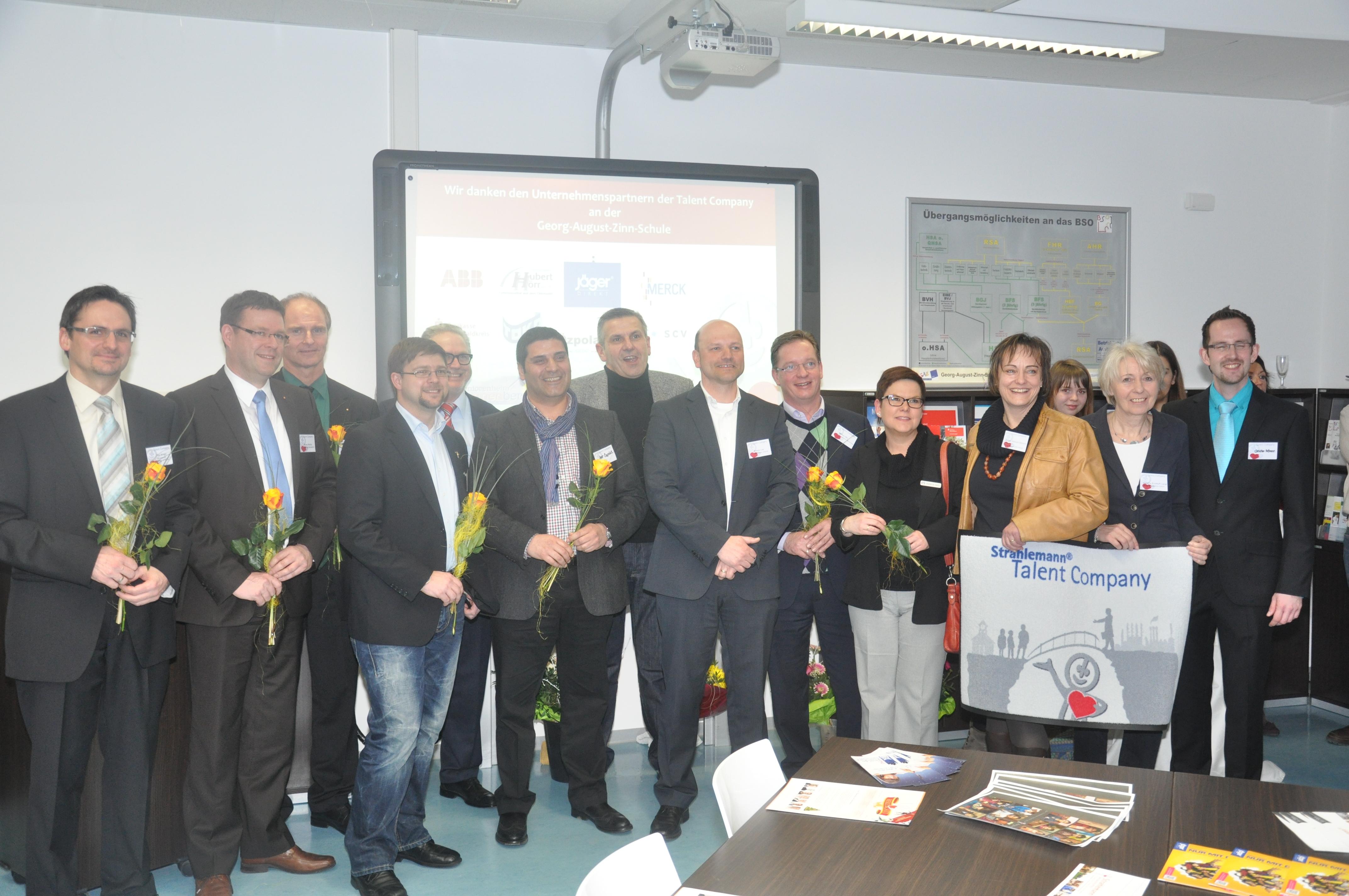 Eröffnung Strahlemann Talent Company an der GAZ in Reichelsheim