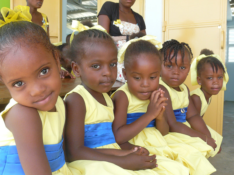 Schule der Hoffnung in Haiti