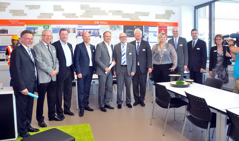 Eröffnung der Talent Company Heidenheim am 17. Juli 2014