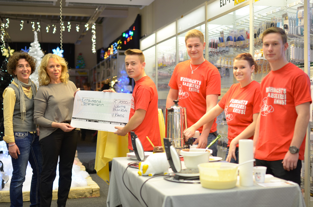 Elektro Knies unterstützt die Strahlemann-Stiftung mit gelungener Aktion