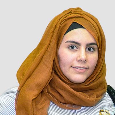 Sarah Abdel-Rahman - Schulsprecherin