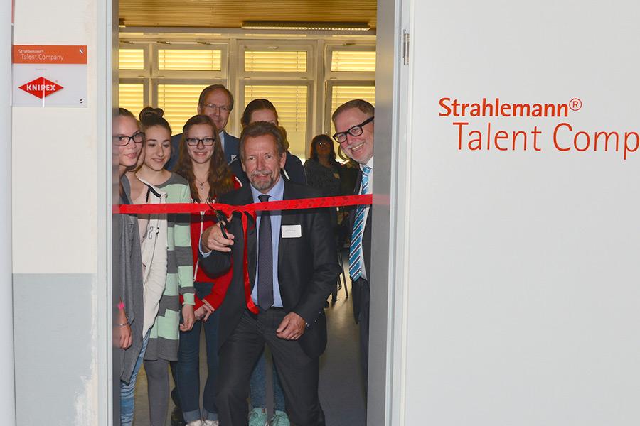 Eröffnung der Talent Company Wuppertal