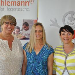 Sigrid Barthel, Kerstin Pontasch, Anja Rudolph (im Bild von links nach rechts) - Schulelternbeirat und Förderverein der IGS