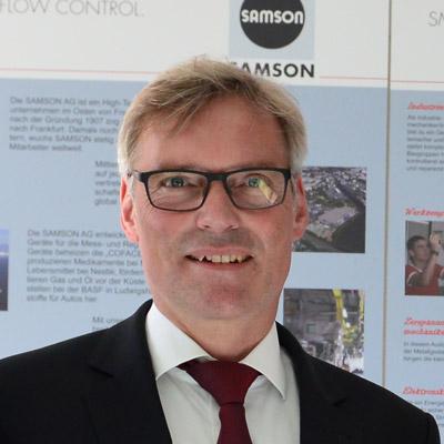 Dr. Ingo Koch - Finanzvorstand der Samson AG