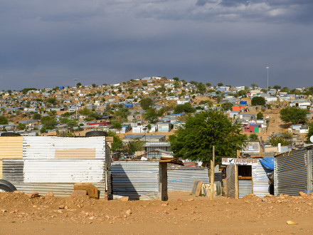 Suppenküche in Katutura, Namibia