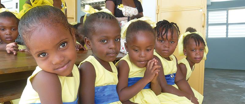 Strahlemann<sup>®</sup> Schule der Hoffnung - Léogâne, Haiti