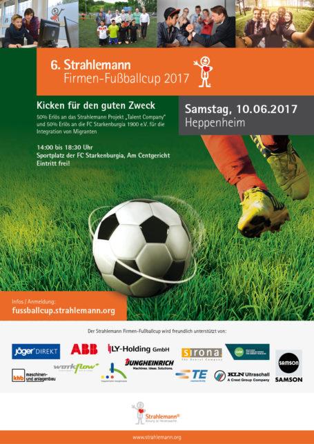Firmen-Fußball-Cup 2017 in Heppenheim