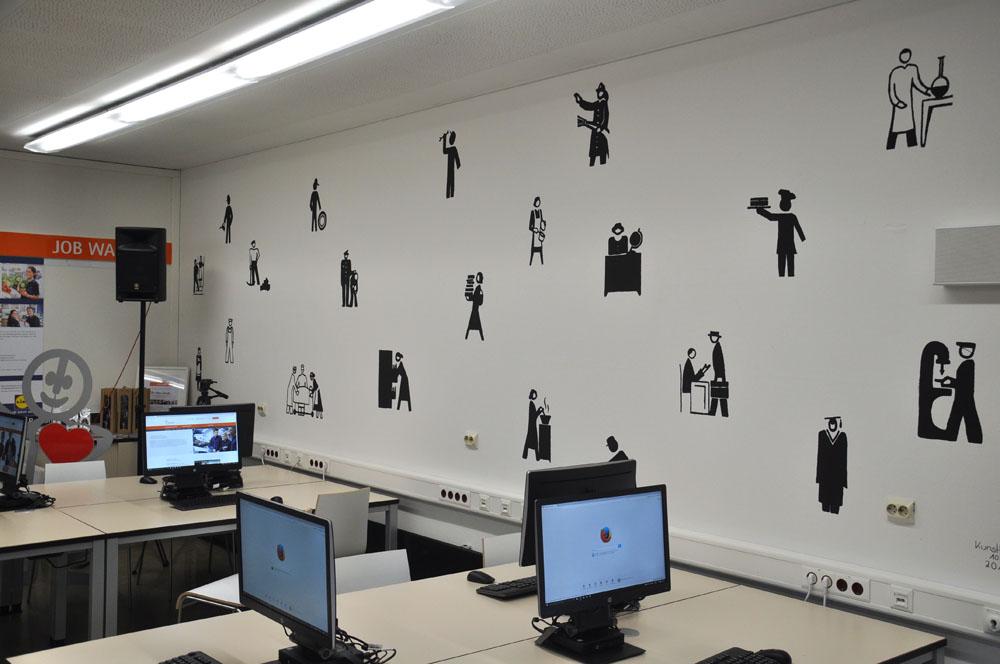 Eröffnung der Talent Company an der Otto-Hahn-Schule am 05.10.16