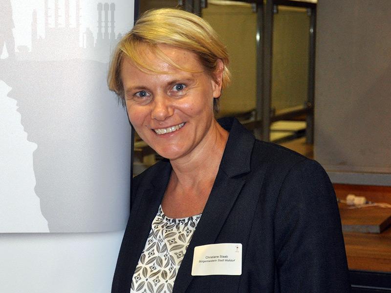 Christiane Staab - Bürgermeisterin Walldorf