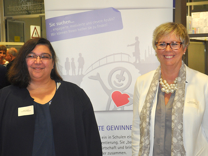 Csilla Wagner / Yvonne Klingels - Elternbeiratsvertreterin / Elternbeiratsvorsitzende