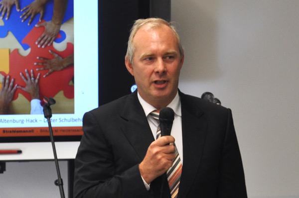 Thorsten Altenburg-Hack - Leiter Amt für Bildung der Behörde für Schule und Berufsbildung (BSB) Hamburg