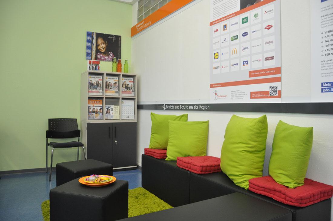 Eröffnung der Talent Company an Realschule Feuerbach in Stuttgart am 10.11.16