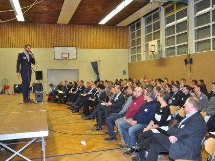 Impressionen der Eröffnung der Talent Company an Realschule Feuerbach in Stuttgart