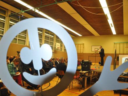 Impressionen der Eröffnung der Talent Company an Realschule Feuerbach in Stuttgart am 10.11.16