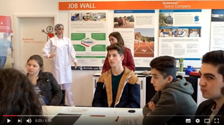 Video: Firma Steinhaus in der Talent Company Remscheid