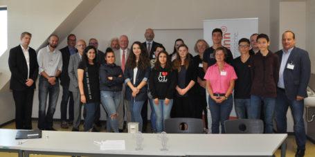 Einzug der Talent Company in Hanau