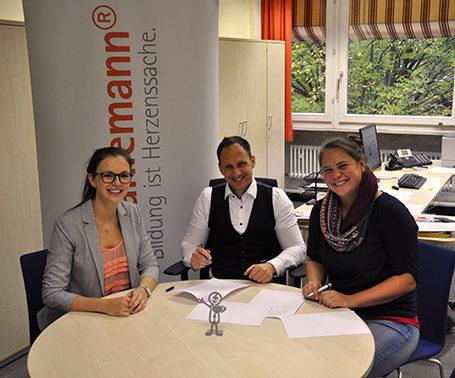 Eine Talent Company für die Rilke-Realschule in Stuttgart