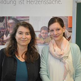Astrid Göttert und Pia Mauer - Job Füxinnen der Kanonikus-Kir-Realschule plus und Fachoberschule