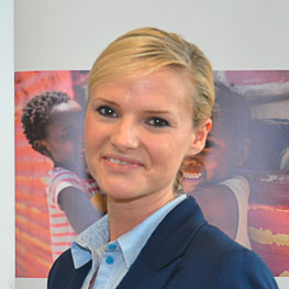 Kathrin Maganuco -  Vorsitzende des Schüler-/ Elternbeirates und Hoteldirektorin