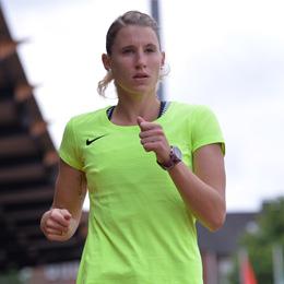 Carolin Schäfer - Vize-Weltmeisterin IAAF World Championships London 2017 und Schirmherrin der Talent Company, ©Foto Jens Kalliske