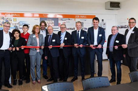 Die 24. Talent Company in Offenbach wurde feierlich eröffnet