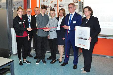 Eröffnung der dritten Strahlemann Talent Company in Frankfurt