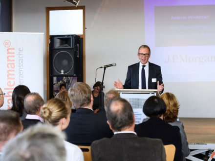 Strahlemann Talent Company - Bachschule Offenbach: Alexander Windmeier Head Treasury Service J.P. Morgan Germany and Austria