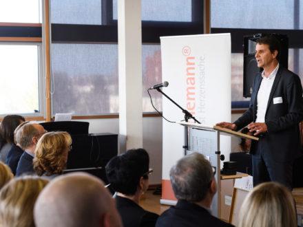 Eröffnung der Strahlemann Talent Company: Andreas Kegelmann, Geschäftsführer von EURICON GmbH & Co. KG