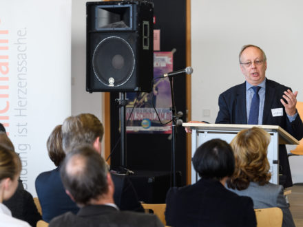 Eröffnung der Strahlemann Talent Company - Bachschule Offenbach: Paul-Gerhard Weiß, Stadtrat und Schuldezernent