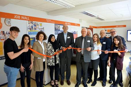 28. Talent Company im Schulzentrum Hessen-Homburg eröffnet