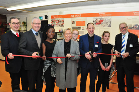 Eröffnung der 27. Talent Company in Stuttgart