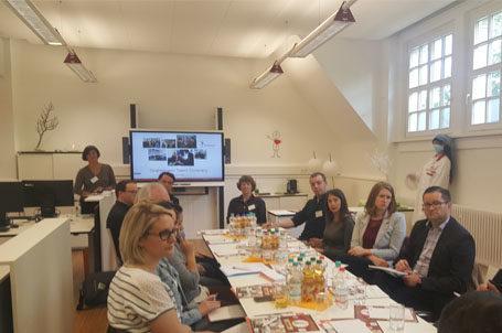 """""""Runder Tisch"""" mit Unternehmen aus der Region in der Talent Company Karlsruhe"""