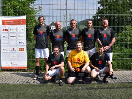 Das Suzuki Team beim 7. Strahlemann Firmen-Fußballcup 2018