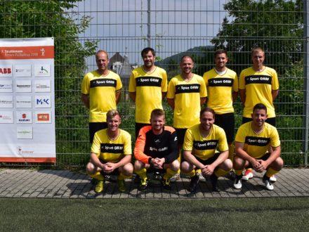 Das Team Sport Graf Team beim 7. Strahlemann Firmen-Fußballcup 2018