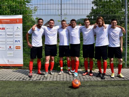 Das ABB Team 7. Strahlemann Firmen-Fußballcup 2018