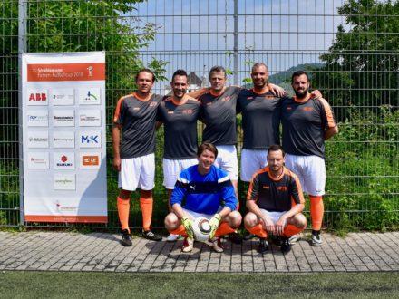 TE Connectivity Germany GmbH beim 7. Strahlemann Firmen-Fußballcup