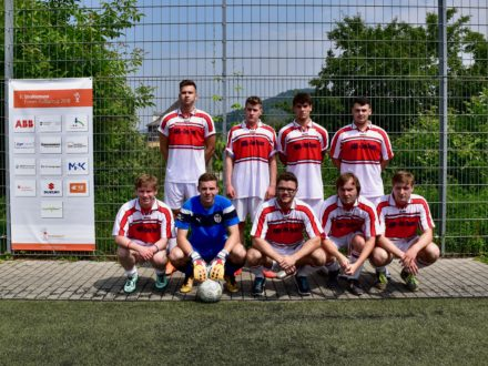 Das ABB One Team beim 7. Strahlemann Firmen-Fußballcup