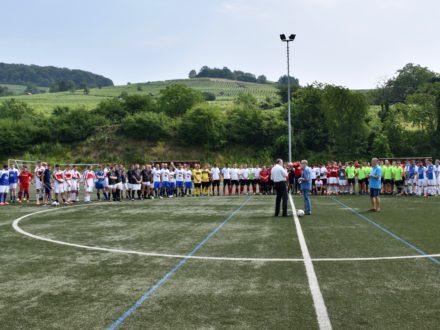 Bundestagsabgeordnete Dr. Michael Meister eröffnete feierlich das Turnier