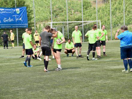 Das Workflow Team beim 7. Strahlemann- Fußballcup