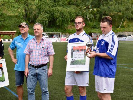 Der 2. Platz ging an das Team des Magistrats Heppenheim