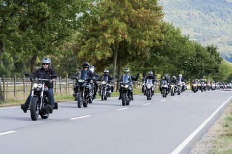 Unterwegs für Bildung – 9. Strahlemann Benefiz-Motorradtour ein voller Erfolg