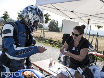 Teilnehmer der Strahlemann Benefiz-Motorradtour