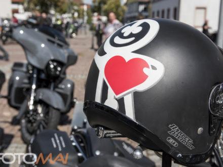 Unterwegs für Bildung - 9. Strahlemann Benefiz-Motorradtour ein voller Erfolg