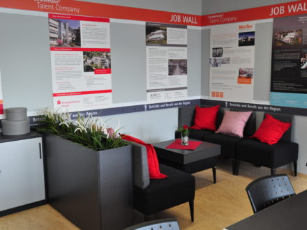 Räumlichkeiten der 31. Talent Company an der Realschule plus in Kusel