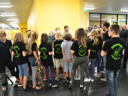 Eröffnung der 31. Talent Company: Die Bläserklasse der Realschule Plus in Kusel