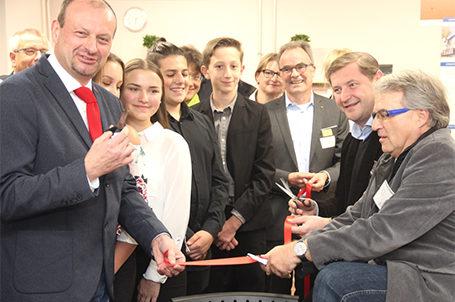 Eröffnung der 32. Talent Company an der Alexander-Coppel-Gesamtschule in Solingen