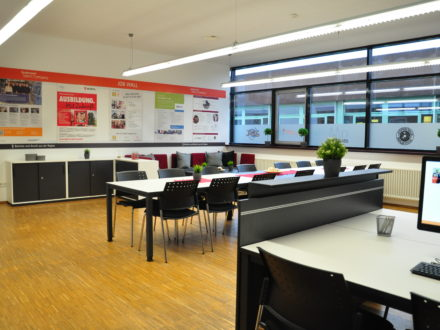 Räumlichkeiten der 33. Talent Company in Bad Mergentheim