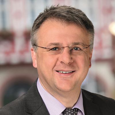 Rainer Burelbach - Bürgermeister der Stadt Heppenheim